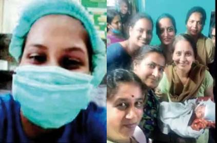 Bangalore doctors gave birth by video call corona curfew