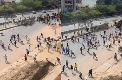 Delhi riots Video of day 2 violence shows mob attacking