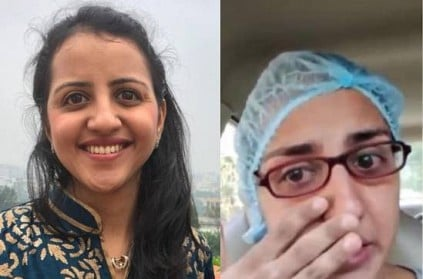 Doctor Trupti Gilada Breaks Down as She Urges People to Mask Up