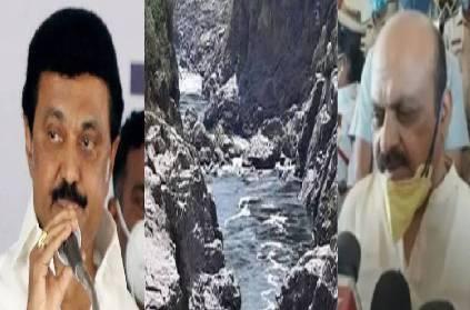 mekedatu dam political tensions rise tamil nadu karnataka