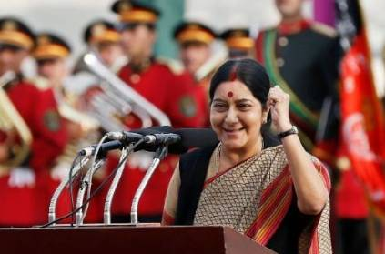 Sushma Swaraj had threatened to don a white saree, shave off her head