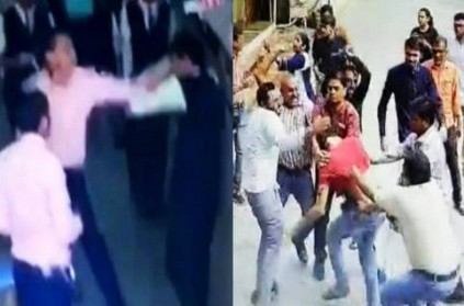 Video Parents thrash teacher who assaulted Class 12 student