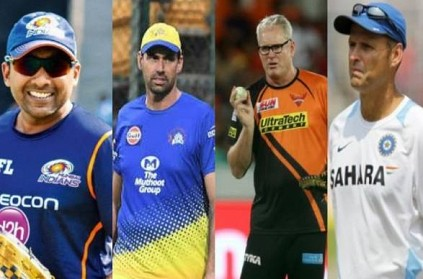 4 probable candidates for the Team India Head Coach position