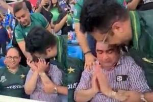 VIDEO: 'பல வருச வலி'!.. பாகிஸ்தான் ஜெயிச்சதும் 'கண்ணீர்' விட்டு அழுத நபர்.. யார் இவர்..?