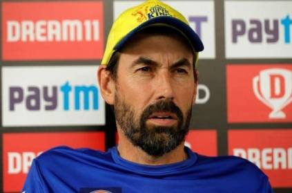 csk coach Fleming comments on ravindra Jadeja not playing