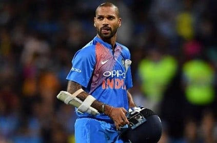 Dhawan ruled out of World cup for 3 weeks with thumb injury