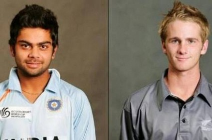 kohli and Kane were captains in Ind vs NZ Under 19 WC semi-final