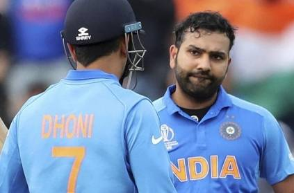 Rohit Sharma Opens up on MS Dhonis gloves badge controversy