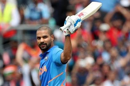 shikar dhawan sets new record in world cup IND vs AUS match