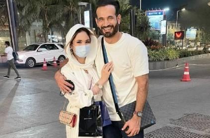 safa baig shields her husband irfan pathan over photo controversy