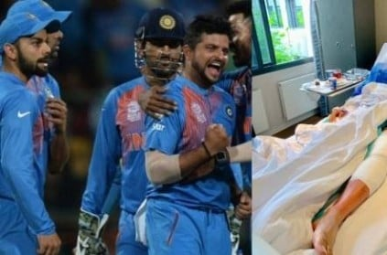 Suresh Raina underwent a knee surgery that will keep him out of action