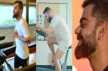 Virat Kohli is getting ready for his IPL match rcb