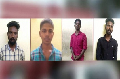 4 youths arrested for abusing pregnant woman in Cuddalore