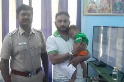 8 Months baby and his mother rescued from Tenkasi