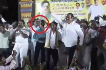 Anbumani reaction while party member taking selfie with him