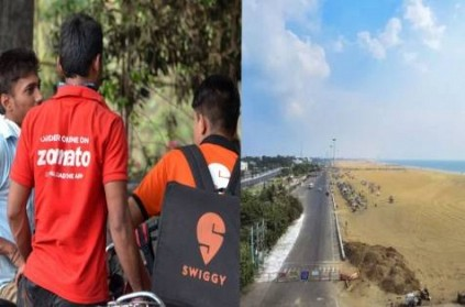 Chennai Corp Bans Zomato Swiggy Allows Grocery Home Delivery