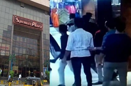 Chennai man threatened people with knife at Spencer Plaza