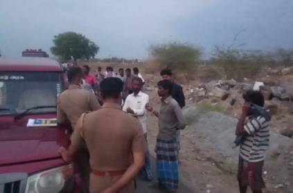 Drunked man dead body found in Karur mysteriously