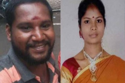 husband killed his wife due to family issue in chennai