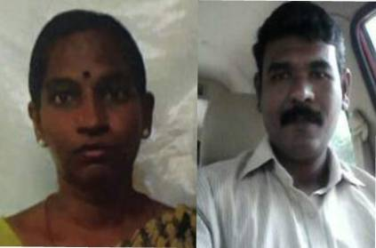 Kanchipuram husband killed his wife during hands and legs tied