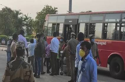 Madurai passengers coming from Dubai not ready to taken test