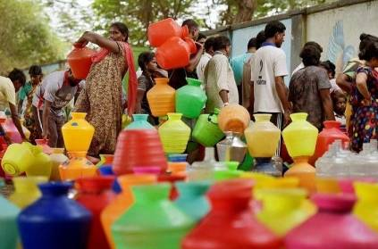 new york times wrote the chennai water shortage