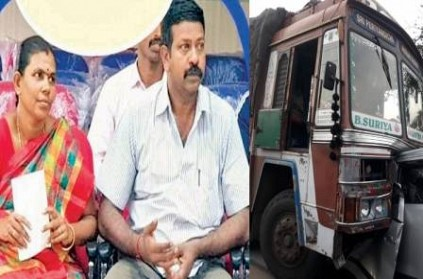 sub inspector and his family died in accident near erode