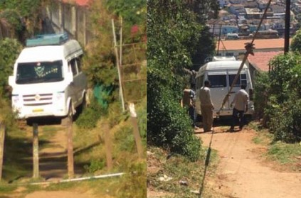 Van driver struggled in Ooty after following Google map