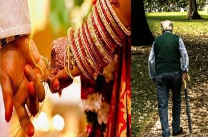 woman cheated by claiming to be married to a 70-year-old man