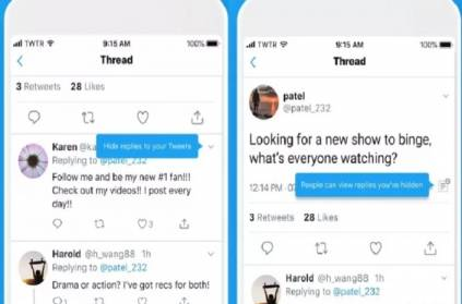 Twitter rolls out its Hide Replies feature to all users