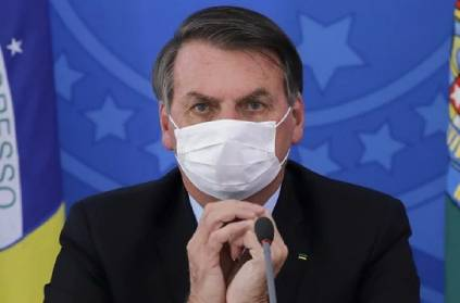 brazil president bolsonaro say vaccine change man into crocodile