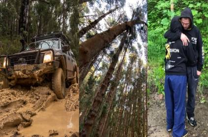 Couple trapped tree 10 days after being chased by a bear