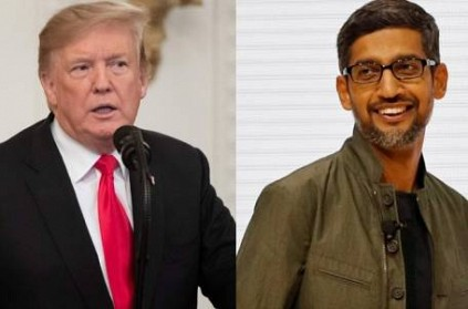 Donald Trump, Democrats take aim at Google and Sundar Pichai