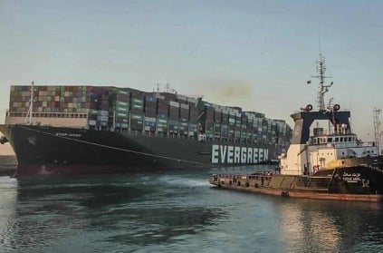 Ever Given ship forbidden to leave the Suez Canal until its owners pay