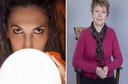 midlife woman helps people using psychics in Britain