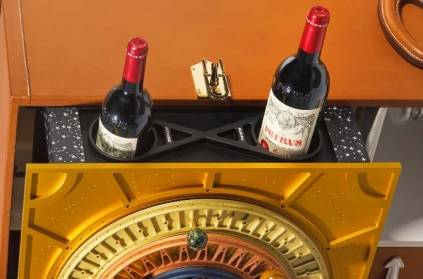 Petrus 2000 bottle of wine spent 14 months in Space
