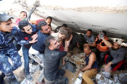 Six-year-old girl survives Israel air strike in Gaza