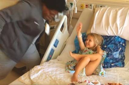 Video: Nurse Dances to Christmas Song to Cheer Up Child with Leukemia