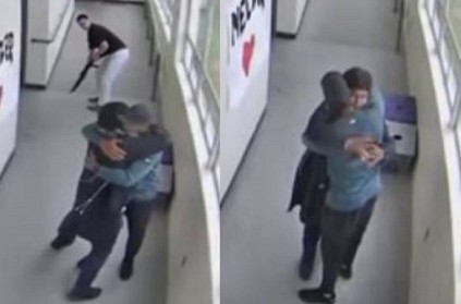 WATCH: US school coach disarmed and hugged gun wielding student