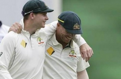 Steve Smith and David Warner greet final day of ban for ball tampering