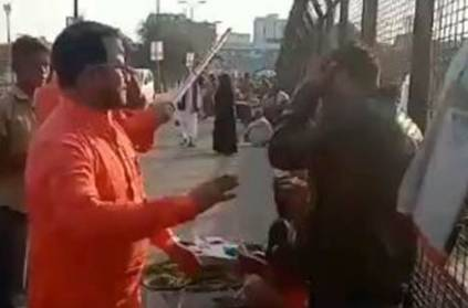 Two Kashmiri dry Fruit Sellers were Attacked On Busy Lucknow Street
