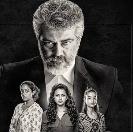 Ajith Kumar's 'Thala 59' First look unveiled, film titled as Nerkonda Paarvai