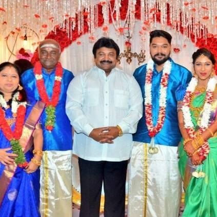 96 fame Aadithya Bhaskar's Sister Ishwarya Bhaskar got engaged