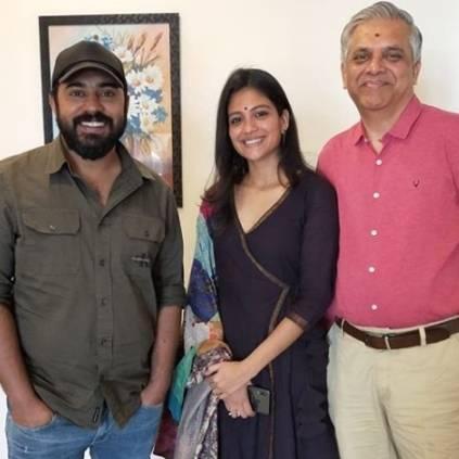Aruvi fame Aditi Balan's Malayalam debute film Padavettu shoot starts today. She plays opposite Premam fame Nivin Pauly.
