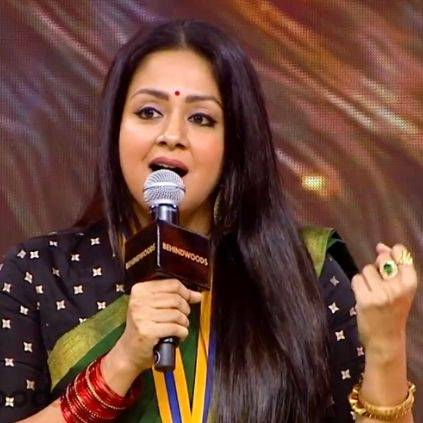 Jyothika talks on Raatchasi influence on people on Behindwoods Gold Medals 2019