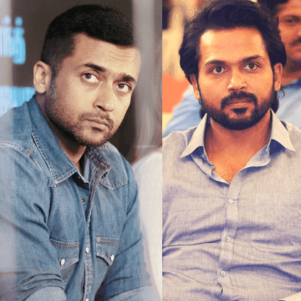 Karthi About the director of actor Suriya's next project
