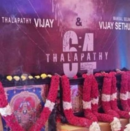 Thalapathy Vijay's Thalapathy 64 Shoot begins with Poojai today